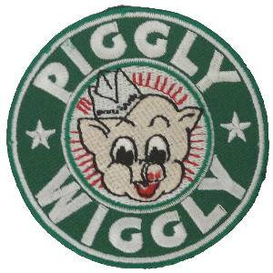 PIGGLY WIGGLY アイロンワッペン