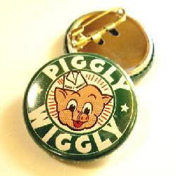 ■PIGGLY WIGGLY 缶バッジ